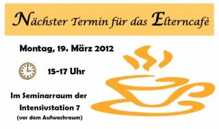 Elterncafé März 2012